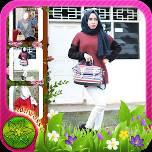 Jeans Fashion Hijab - náhled