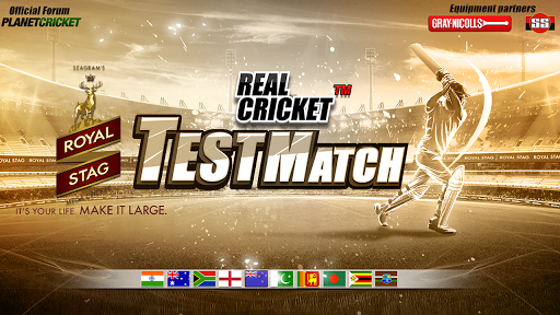 Real Cricketu2122 Test Match 1.0.5 screenshots 1