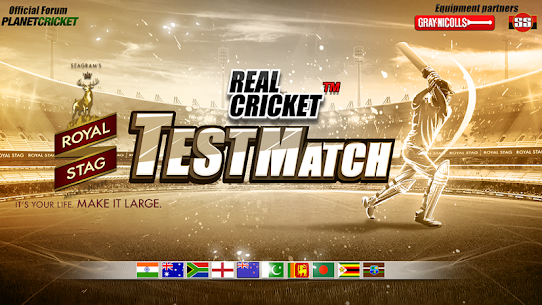 Real Cricket™ Test Match App Download For Android and iPhone 1