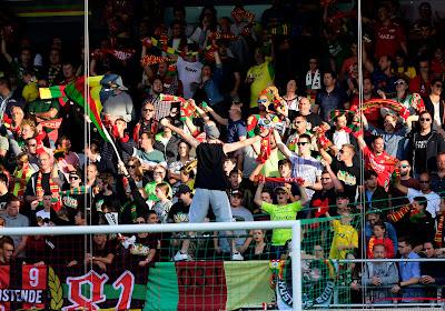 L'appel d'Ostende à ses supporters pour la rencontre cruciale de dimanche