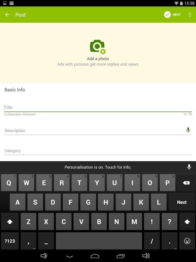 Gumtree South Africa - screenshot