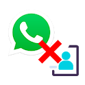 Whats No Contact icon
