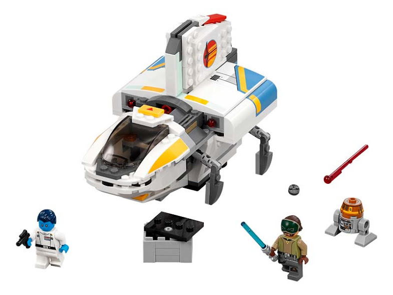 Contenido de Lego® 75170 Fantasma