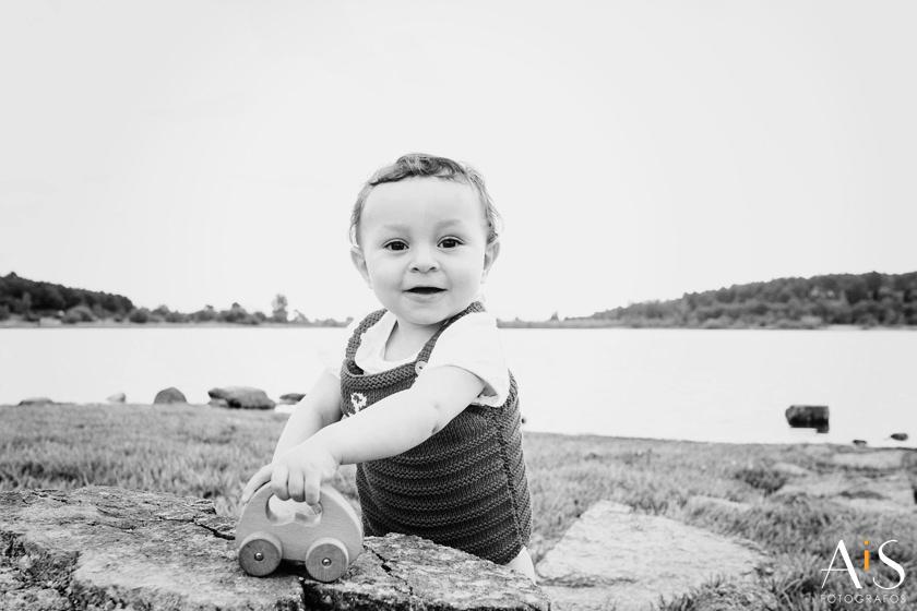 Reportaje fotografico infantil en primavera