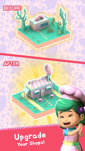 Lola Bakery - Puzzle & Idle Store Tycoon with Kiko  screenshots 8