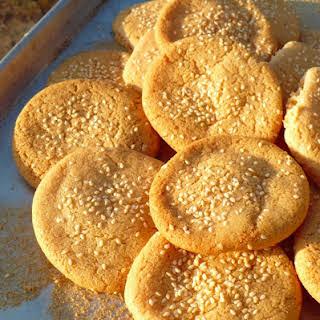 Tahini Cookies (Gluten Free, Dairy Free).