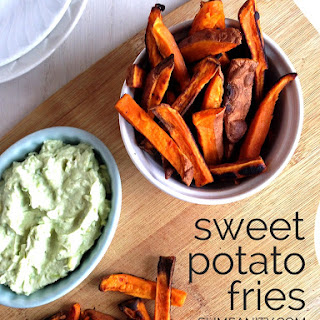 Healthy Sweet Potato Fries.