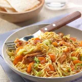 Chinese Soja Sesammie met kipreepjes