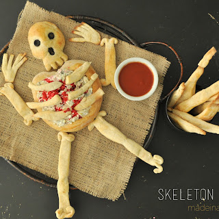 Skeleton Bread & Bread Sticks