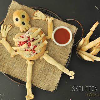 Skeleton Bread & Bread Sticks.