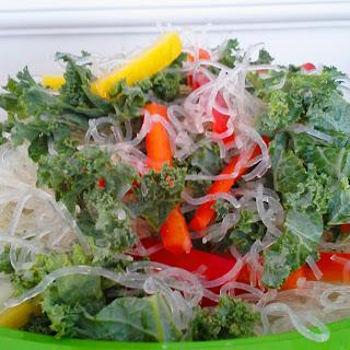 Coconut Lime Kelp Noodle Salad