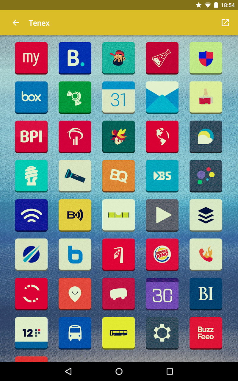Tenex - Icon Pack Screenshot 10