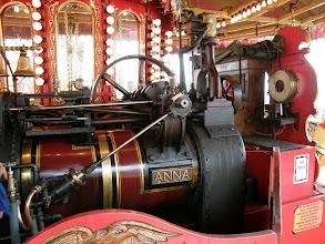 Photo: Silnik parowy karuzeli