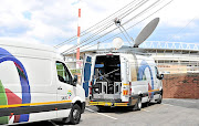 TV rights dispute with SuperSport means that SABC can't even carry matches on radio. / Samuel Shivambu/BackpagePix