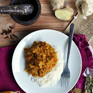 Baingan Bharta + An Indian Feast.