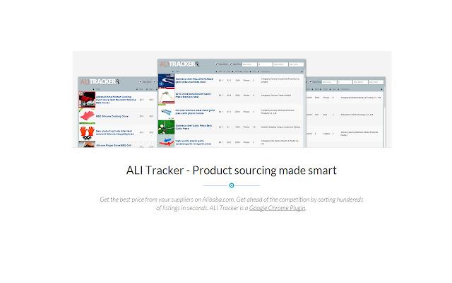 ALI Tracker - Alibaba.com Searching Made Easy