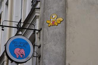 Photo: Street art - Gz'Up  -Paris Ve - rue Mouffetard