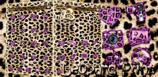 Pink Gold Leopard Print Theme Apps On Google Play