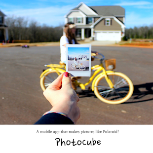 Photo Cube - Instant camera, Photo card Screenshot