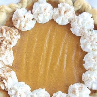 No Bake Eggnog Pumpkin Pie