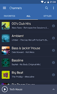 Digitally Imported Radio Screenshot 1