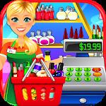 Supermarket Drugstore Cashier Icon