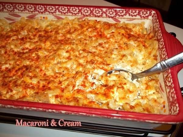 ~ Grams Macaroni & Cream ~ Recipe