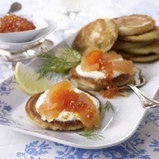 Blini mit Lachs & Kaviar