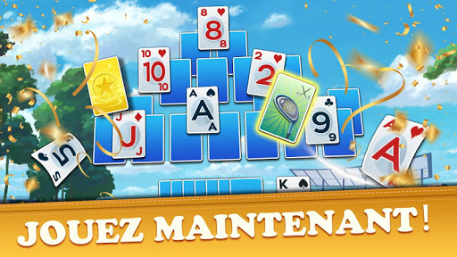 Golf Solitaire Tournament: Free & Fun Card Games  captures d'écran 2