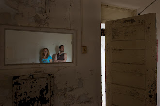 Photo: Kicking it inside an asylum in the South with Ian Ference.
