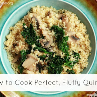 Perfect, Fluffy Quinoa Recipe