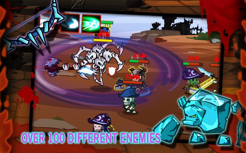 Скриншот TinyLegends - Crazy Knight
