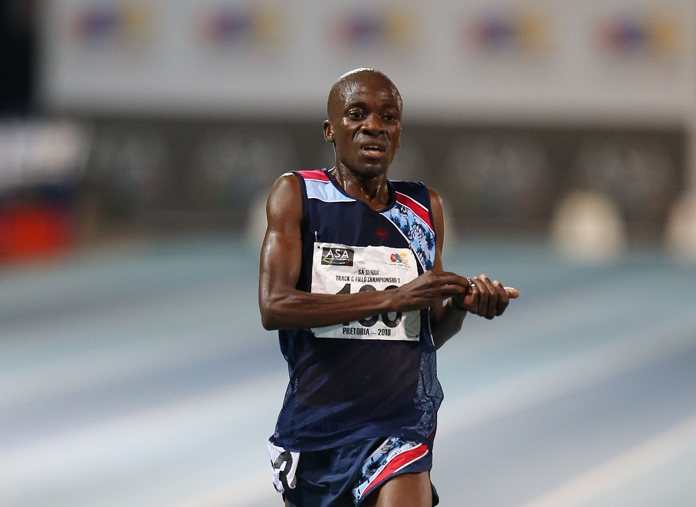 Stephen Mokoka happy to run again as he wins Cape Town marathon