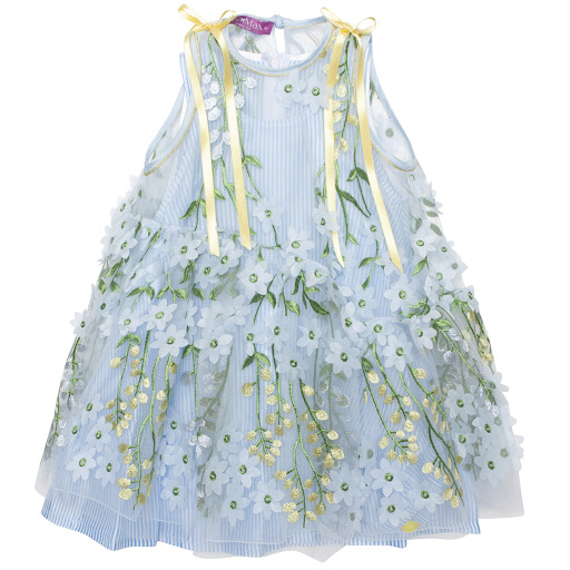 Primary image of ValMax Embroidered Tulle Dress