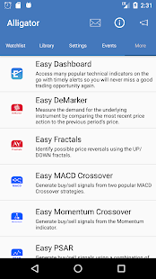 Easy Alligator for Forex and Commodities- screenshot thumbnail