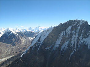 Photo: Mt Basuki and Chandra parvat as seen from summit