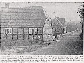 Photo: Kirkegade 7 , Hans Laustsens hus Huset blev væltet i 1970