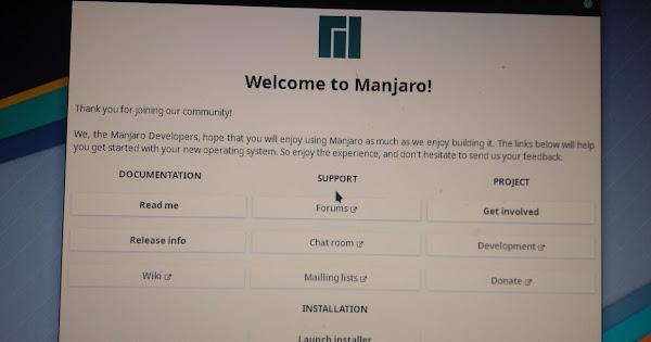 Live usb install mouse freeze - Installation - Manjaro Linux