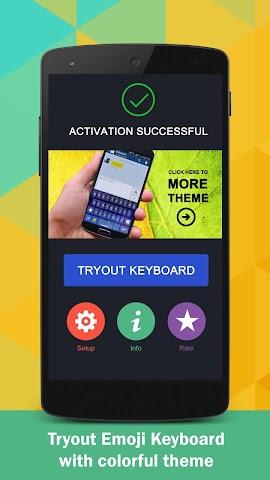 android Emoji Keyboard Screenshot 4
