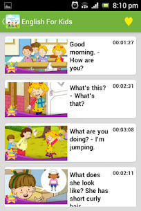 English Conversation for Kids Apk  Download For Android 3