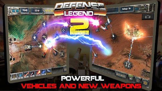 Tower defense-Defense legend 2- screenshot thumbnail
