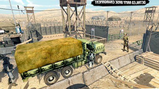 US Army Transport Drive - Army Games screenshots 2