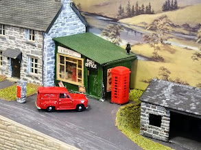 Photo: 010 The attractive little village post office at Dragon's Lair, proprietor, a certain I Havitt .