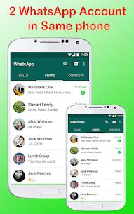 Messenger for WhatsApp Web