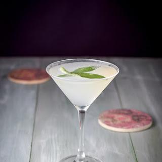 Dreamy Sage Limoncello Martini.
