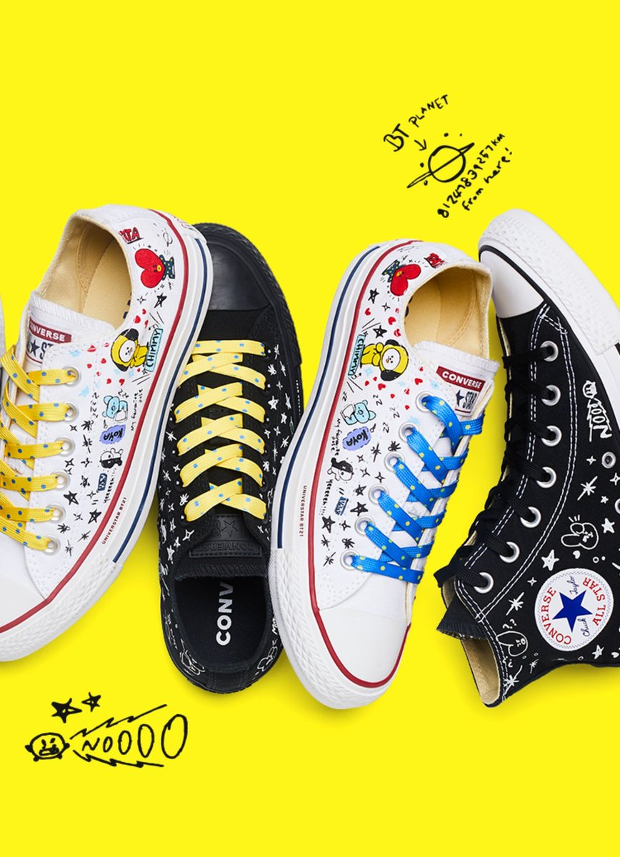 b09b8d73348b BTS Scores Another Major Brand Deal With Upcoming Converse X BT21 ...