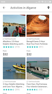 Algarve Travel Guide in english with map