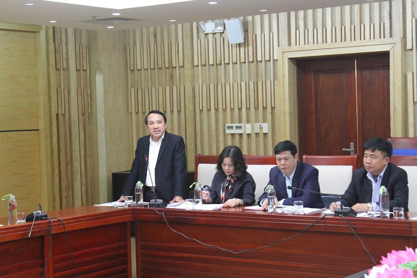 Đại diện Sở y tế Nghệ An báo cáo về tình trạng bệnh nhân đang điều trị tại bệnh viện Hữu Nghị Đa khoa Nghệ An nghi bị nhiễm virus corona