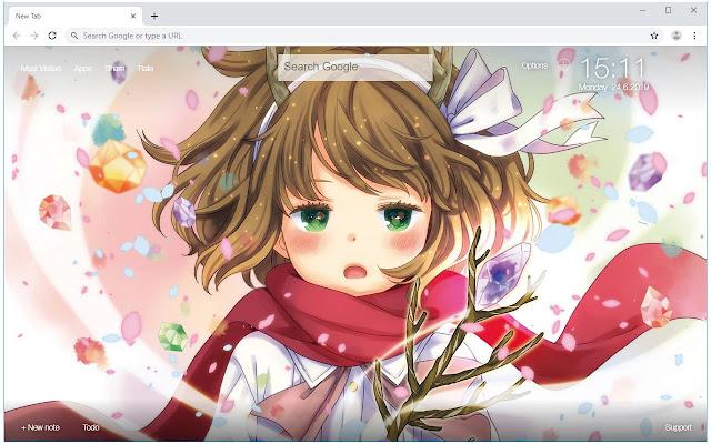 Danmachi HD Wallpapers Anime New Tab