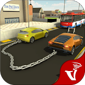 Chained Cars Rivals Racing Crazy Stunt Driver 3D